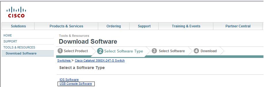 cisco usb console driver windows 7 download