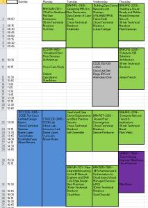 CLUS San Diego Schedule